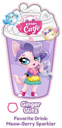 Kitten Catfe Purrista Girls Meowble Series 1 Chai Meow Figure NEW